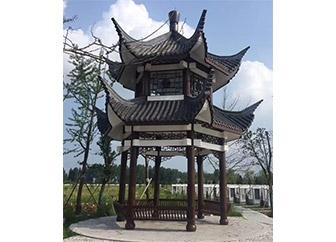 长沙EPS线条古典建筑