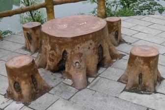 常德仿木桌椅