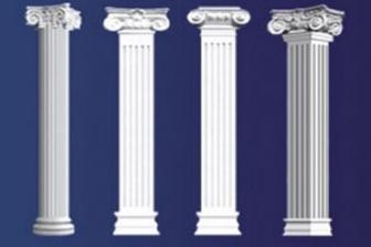 罗马柱安装